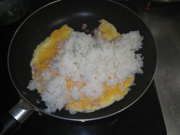 まいたけの焼き飯