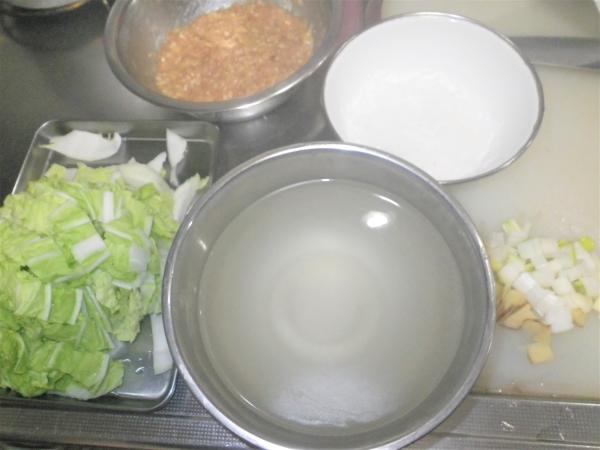 白菜と鶏団子のとろとろ煮